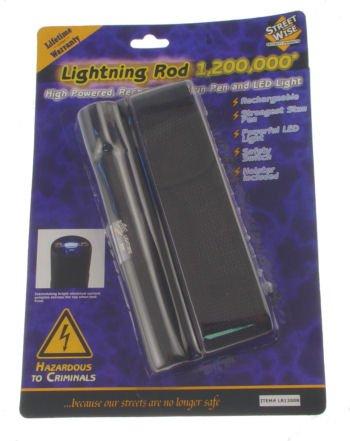 1.2 Million Volt Rechargeable Pen Stun Gun Flashlight