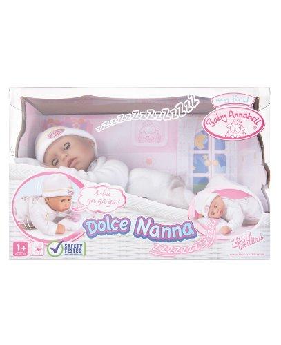 Imagen 2 de Baby Annabell 790281 - Mi Primera Dulces Sueños (Bandai)