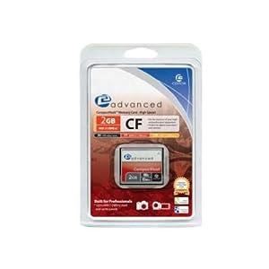 Centon 80X CF Type 1 - 2 GB Flash Card 2GBACF80X (Silver)