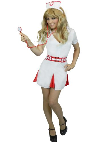 Yummy Bee Sexy Naughty Nurse Cosplay Costume Womens Plus Size 2-14