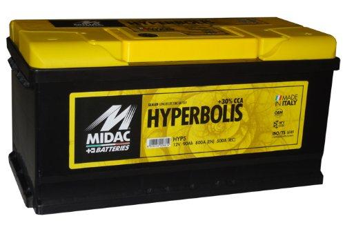 Autobatterie MIDAC Hyperbolis 90Ah 800A