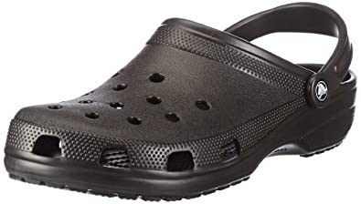 Crocs Classic Clog,Black,Women's 7 M US/Men's 5 M US