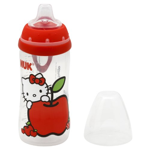 Nuk Hello Kitty Silicone Spout Active Cup, 10 Ounce