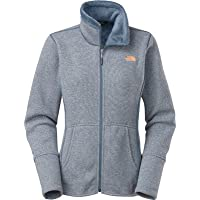 The North Face Banderitas Full Zip Women's Fleece (Cool Blue Heather)