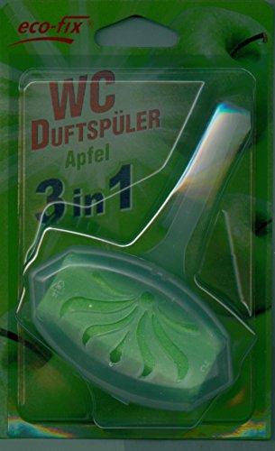 eco-fix WC-Stein, Apfel, WC-Einhänger, 40g