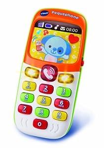 VTech - Pequephone bilingüe, Teléfono de juguete (3480-138147)