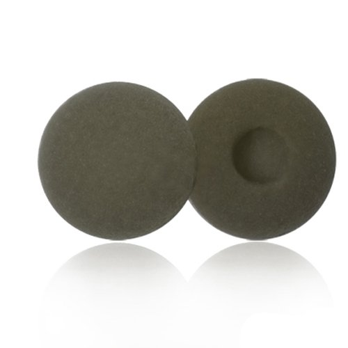 10 Pack Quality Foam Replacement Earbud Earpad Sponge Covers For Ipod / Ipod /Iphone/ Itouch And Similar Stereo Headsets (Grey)