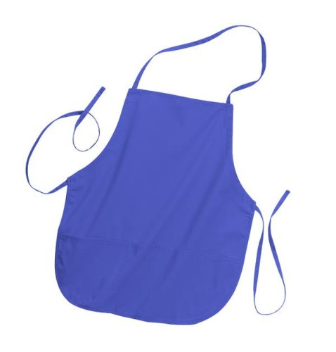 Port Authority 24 inch Apron (A525) Adjustable Neck Strap Medium-Length with Pockets Available in 7 Colors Hunter Green