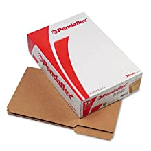 Pendaflex RK153-1/3 Pendaflex 2-Ply Dark Kraft File Folders, Straight Cut, Top Tab, Lgl, BN, 100/Bx