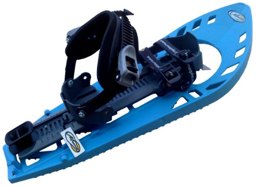 MORPHO Supertrimmy Light Erwachsenen Schneeschuhe mit doppelter Fußgelenk-Schnalle (Snowboard Type) ohne Polstereinlage