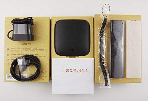 最新Xiaomi Box 3 Jailbreak越狱版 Mi TV Box小米盒子4K超清豪华海外版大陆频道1000+ 欧美节目海量电影及时