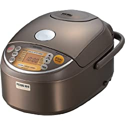Zojirushi NP-NVC10 Induction Heating Pressure Cooker (Uncooked) and Warmer, 5.5 Cups/1.0-Liter