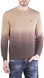 TSAVO Men's Cotton Sweatshirt SKU_1490_BROWN_XXL