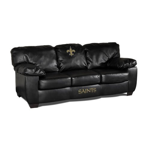 NFL New Orleans Saints Team Classic Sofa at Amazon.com