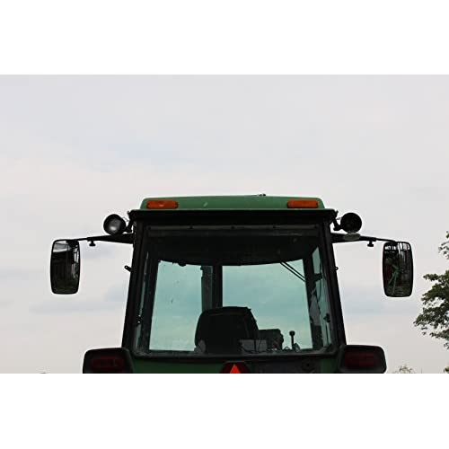 Mirror For Tractor : Tractor extension mirror kit for john deere sound gard