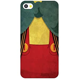 Apple iPhone 4S Curtained Up Matte Finish Phone Cover - Matte Finish Phone Cover