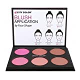 CITY COLOR Glow-Pro Blush Palette - Matte Collection (並行輸入品) ランキングお取り寄せ