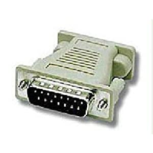 C2G / Cables to Go 02902 MAC DB15 Male to VGA HD15 Female Adapter  Beige