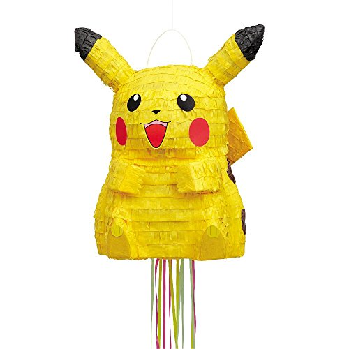 Unique Industries BB101436 Pikachu Pull Pinata - 1