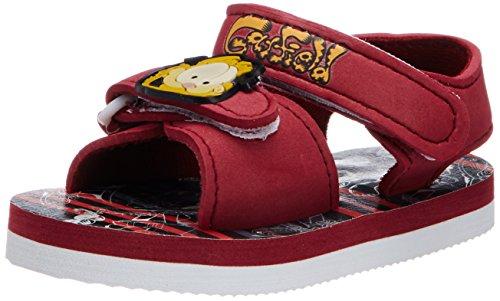 Garfield Garfield Boy's Vinyl Sandals And Floaters (Green)