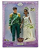 Disney The Princess and the Frog Exclusive Figure Princess Tiana Prince Naveen Wedding Doll