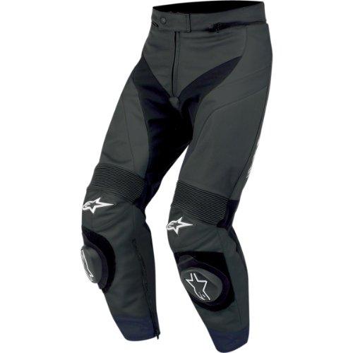 Alpinestars GP Plus Lederhose, Farbe schwarz, Größe 50