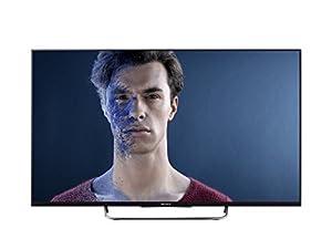 Sony BRAVIA KDL-32W705 81 cm (32 Zoll) LED-Backlight-Fernseher (Full HD, Motionflow XR 200Hz, WLAN, Smart TV, DVB-T/C/S2) schwarz