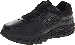 New Balance Men\'s MW840 Health Walking Shoe,Black,10 2E US