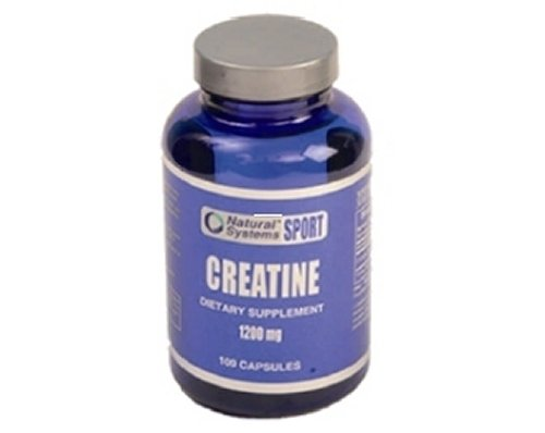 Natural Systems Creatine 1200 Mgf 100 Capsules Muscle Energy Enhancer