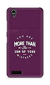 AMEZ you are more than the sum of your mistakes Back Cover For Lenovo A3900