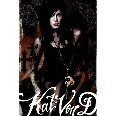Kat Von D Look To Kill Tattoos 24X36 Poster La Ink 1576 Poster Print, 24X36