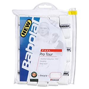 Buy Babolat Pro Tour 30 Pack White Tennis Overgrip by Babolat