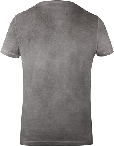 GOZOO Star Wars Men's T-Shirt Vintage Wookiee Oil Dye Grey 1