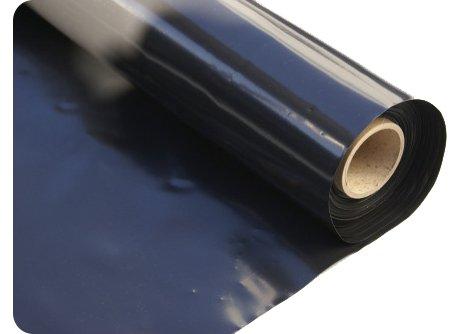 Elixir Black Polythene Sheeting Plastic Covers 1M 500G - 1mx20m
