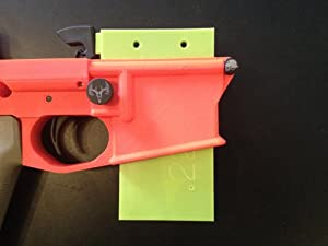 AR 15 Delrin Hammer Drop Block Lower Vise Block