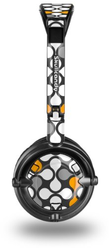 buy Locknodes 05 Orange Decal Style Skin Fits Skullcandy Lowrider Headphones (Headphones Sold Separately)