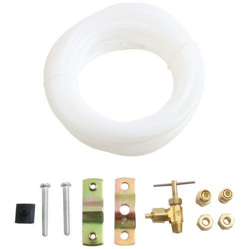 1 - Ice Maker Hook-Up Kits (25Ft Kit With Plastic Tube), Kit Includes 1 Of Each: , Self-Piercing Saddle Valve , Ice-800 (Lfk-1) front-552717