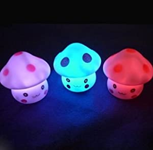 Domire Color Changing LED Night Light Mushroom by Domire