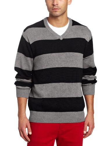 Spring+Mercer Men's Rugby V-Neck Sweater