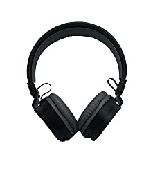 BYTE CORSECA DMHW 3213 BLACK STEREO WIRED HEADPHONE WITH MIC 3.5