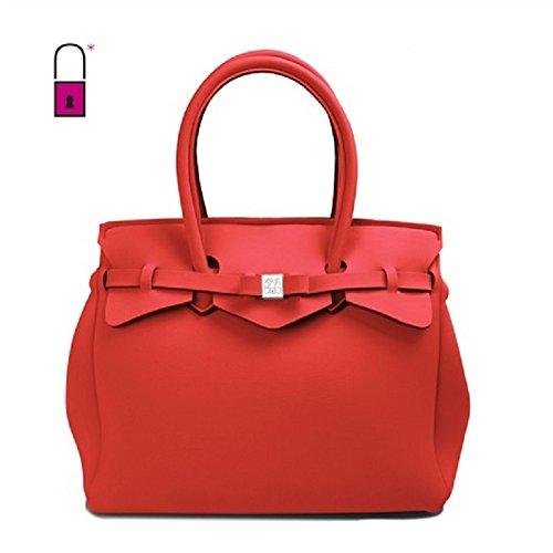 Borsa donna Save my bag 10204N COCCINEL