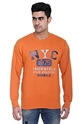 Round Neck - Orange - SWEATSHIRT for men by COLORS & BLENDS