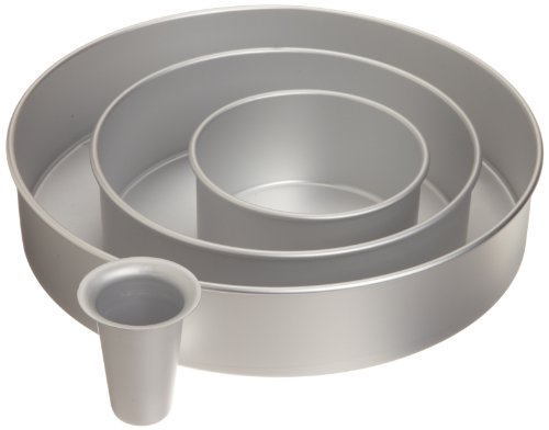 Wilton 2105-6150 Decorator Preferred Round Cake Pan Set (Lips Cake Pan compare prices)