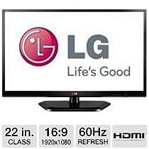 "LG 22"" 1080p IPS Monitor, TV Tuner, HDMI"