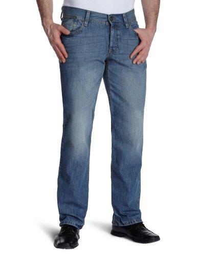 edc by Esprit Men's Loose-Fit Jeans Blue W30 x L34