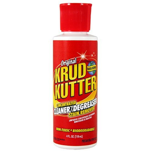 Krud Kutter KK04 Concentrated Cleaner/Degreaser Stain Remover with 4-Ounce Flip Top (Krud Kutter Carpet Cleaner compare prices)