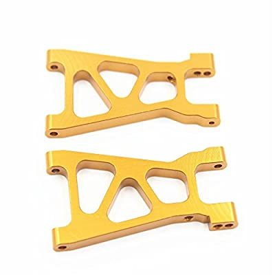 Alum Aluminum Lower Suspension Arm Al 2p M606 Replace 23606 Upgrade Parts for Rc Elcetric Himoto 1/18 Spino Buggy E18 E18xbl E18mtl Mastadon