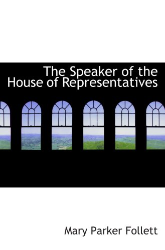 The Speaker Of The House Of Representatives