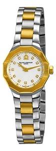 (快抢)Baume & Mercier 名仕A8718 Riviera 钻石双色女士手表 $985