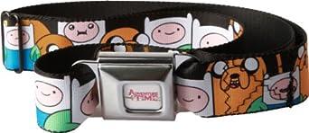 Adventure Time Finn and Jake Seatbelt Belt